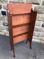 Arts & Crafts Oak Folding Bookcase (7 of 9)