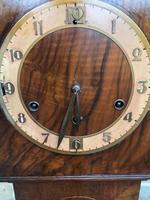 Antique Figured Walnut Granddaughter Clock (10 of 12)
