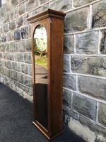 Antique Oak Cased Regulator Clock (5 of 9)