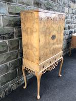 Antique Burr Walnut Cocktail Cabinet by Epstein (2 of 9)