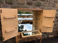 Antique Burr Walnut Cocktail Cabinet by Epstein (6 of 9)