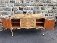 Antique Burr Walnut Sideboard by Epstein (6 of 9)