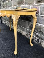 Antique Burr Walnut Console Table by Epstein (6 of 7)