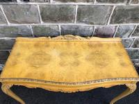 Antique Burr Walnut Console Table by Epstein (3 of 7)