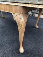 Burr Walnut Dining Table & 8 Chairs by Epstein (6 of 12)