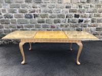 Burr Walnut Dining Table & 8 Chairs by Epstein (2 of 12)