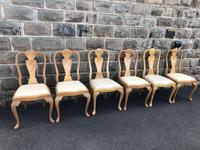 Burr Walnut Dining Table & 8 Chairs by Epstein (8 of 12)