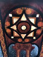 Decorative Antique Inlaid Table c.1890 (3 of 8)