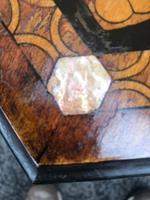 Decorative Antique Inlaid Table c.1890 (6 of 8)