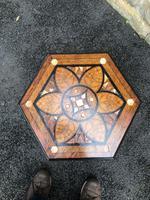 Decorative Antique Inlaid Table c.1890 (7 of 8)