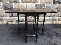 Edwardian Mahogany Sutherland Table (3 of 6)