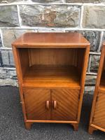 Pair of Mahogany Bedside Cabinets c.1910 (2 of 8)