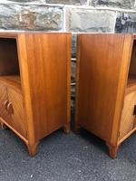 Pair of Mahogany Bedside Cabinets c.1910 (7 of 8)