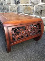 Antique Oriental Chinese Huanghuali Opium Table (3 of 7)