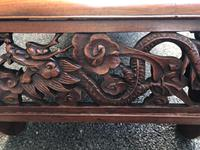 Antique Oriental Chinese Huanghuali Opium Table (7 of 7)