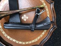 Copper Hunting Horn in Leather Case (2 of 5)