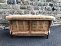 Antique English Upholstered Sofa for recovering (9 of 9)