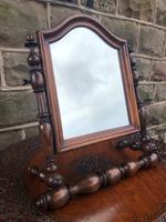 Antique Military Campaign Mirror