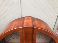 Art Deco Figured Walnut Display Cabinet (5 of 9)