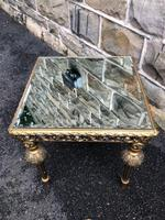 Gilt Wood Mirrored Coffee Table (4 of 4)