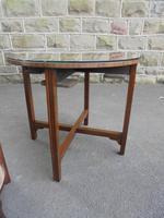 Edwardian Nest of 5 Mahogany Tables (4 of 13)