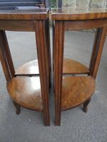 Edwardian Nest of 5 Mahogany Tables (2 of 13)