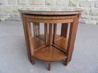 Edwardian Nest of 5 Mahogany Tables (11 of 13)