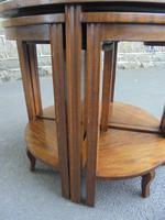 Edwardian Nest of 5 Mahogany Tables (10 of 13)