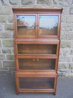 Antique English Oak Stacking Solicitors Bookcase by Gunn (7 of 9)