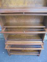 Antique English Oak Stacking Solicitors Bookcase by Gunn (4 of 9)