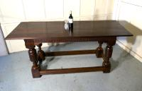 Arts & Crafts Gothic Carved Oak Table (11 of 11)
