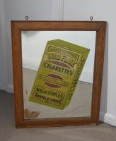 Wills Gold Flake Cigarettes Advertising Mirror