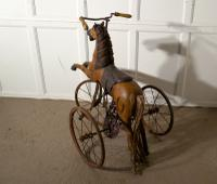 20th Century Copy of a Victorian Toy Tricycle Pedal Horse (3 of 8)
