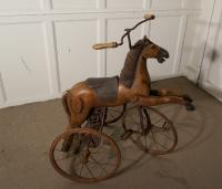 20th Century Copy of a Victorian Toy Tricycle Pedal Horse (4 of 8)
