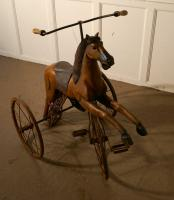 20th Century Copy of a Victorian Toy Tricycle Pedal Horse (6 of 8)