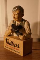 Phillips Stick a Soles & Heels Cobblers Shop Advertising Display Model (5 of 9)