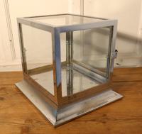 Art Deco Chrome & Glass Cabinet (2 of 8)