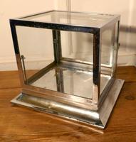 Art Deco Chrome & Glass Cabinet (3 of 8)