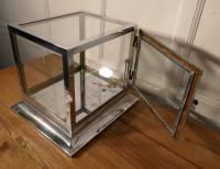 Art Deco Chrome & Glass Cabinet (5 of 8)