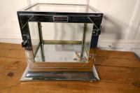 Art Deco Chrome & Glass Cabinet (4 of 8)