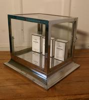 Art Deco Chrome & Glass Cabinet (6 of 8)