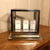 Art Deco Chrome & Glass Cabinet (7 of 8)