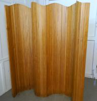 French Art Deco Tambour Room Divider Screen