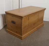 Victorian Pine Blanket Box / Coffee Table / Shoe Tidy (7 of 10)