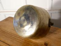 Small 19th Century Brass Preserving Pan or Cooking Pot (6 of 6)