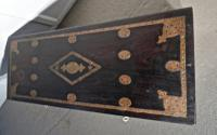 Large North African Carved & Brass Decorated Coffer (7 of 15)