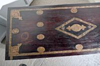 Large North African Carved & Brass Decorated Coffer (4 of 15)