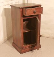 French Chestnut Bedside Cupboard or Night Table (2 of 4)