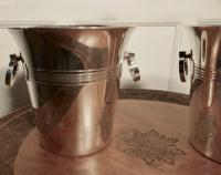 Fine Pair of French Art Deco Style Wine Coolers, Champagne Ice Buckets (2 of 6)