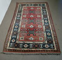 Vintage Hand Woven Shiraz Carpet